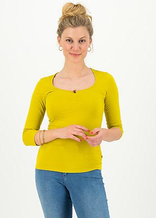 logo 3/4 sleeve shirt, simply yellow, Shirts, Yellow