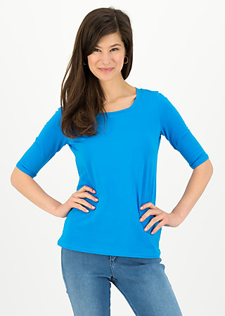 logo shirt legere, simply blue, Shirts, Blue