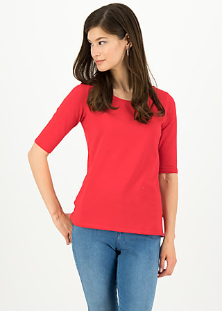logo shirt legere, simply red, Shirts, Rot
