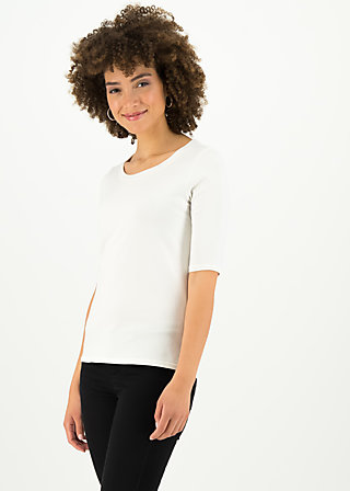 logo shirt legere, simply white, Shirts, Weiß