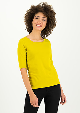 logo shirt legere, simply yellow, Shirts, Gelb