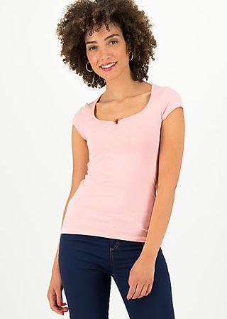 logo shortsleeve feminine, simply peach, Shirts, Rosa