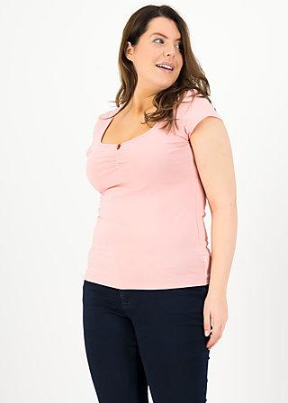 logo shortsleeve feminine, simply peach, Shirts, Pink