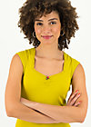 logo top romance uni, simply yellow, Shirts, Gelb