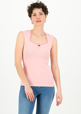 logo top romance uni, simply peach, Shirts, Pink