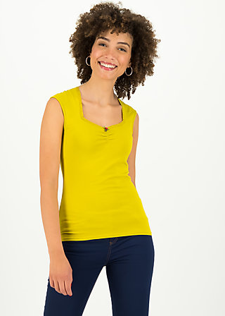 logo top romance uni, simply yellow, Shirts, Yellow