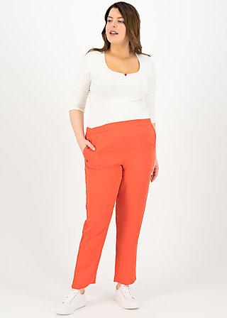 logo woven trousers, dusty red, Hosen, Rot