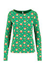 madel ahoi longsie, jungle flowers, Shirts, Green