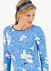 madel ahoi longsie, pelican island, Shirts, Blue