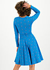 ode to the woods dress, blue tippi dots, Dresses, Blue