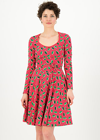 ode to the woods dress, leaf love, Kleider, Rosa