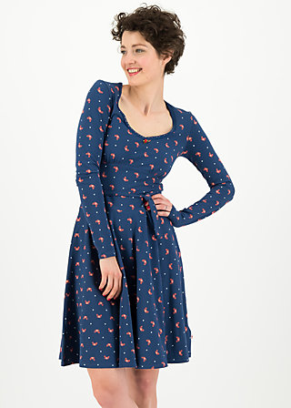 ode to the woods dress, mr crab, Dresses, Blue