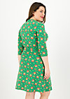 pfadfinderehrenwort dress, jungle flowers, Dresses, Green