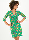 Jersey Dress pfadfinderehrenwort, jungle flowers, Dresses, Green