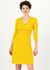 Jerseykleid pfadfinderehrenwort, orange picking, Kleider, Gelb