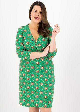 pfadfinderehrenwort dress, jungle flowers, Dresses, Green