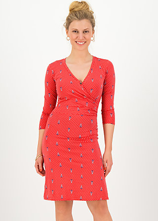 pfadfinderehrenwort dress, red tippi dots, Dresses, Red
