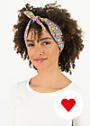 pretty and chic hairkerchief, glamping girl, Accessoires, Rot