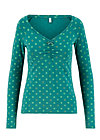 pretty betty longsie, lucky clover, Shirts, Green