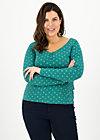 pretty betty longsie, lucky clover, Shirts, Green