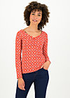 pretty betty longsie, sea flower, Shirts, Red