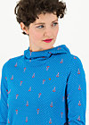 riders in the tent hood, blue tippi dots, Pullover & leichte Jacken, Blau