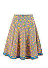High Waisted Skirt river Island picknick, glamping girl, Skirts, Red