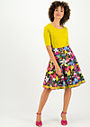 High Waisted Skirt river Island picknick, wild night, Skirts, Black