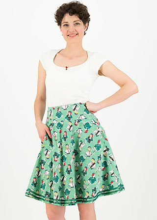 river Island picknick skirt, girl scout, Röcke, Grün