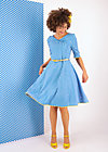 Kleid rumbling rose, blueday daisy, Kleider, Blau