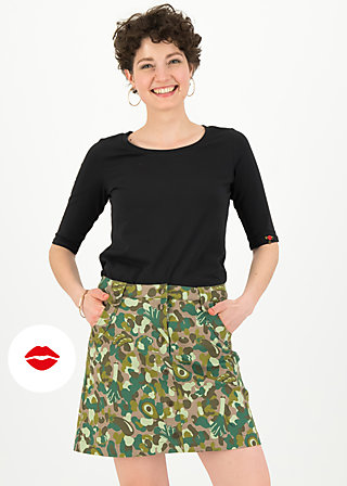 snake, rattle and roll skirt, veggieflage, Skirts, Brown