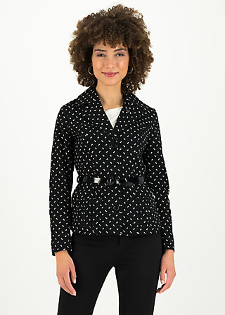 Blazer soere de jaque, glowing firefly, Jackets & Coats, Black