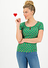 start it with a kiss tee, apple picking, Shirts, Grün