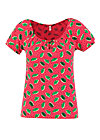 T-Shirt start it with a kiss, leaf love, Shirts, Rosa