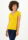 sunshine camp t-shirt, orange picking, Shirts, Yellow