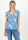 V-Neck Shirt sunshine camp, pelican island, Shirts, Blau