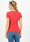 V-Neck Top sunshine camp, red tippi dots, Shirts, Red