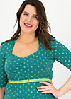 Jersey Dress suzie the snake, lucky clover, Dresses, Green