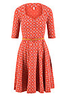 suzie the snake dress, sea flower, Dresses, Red