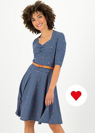 suzie the snake dress, over the ocean, Dresses, Blue