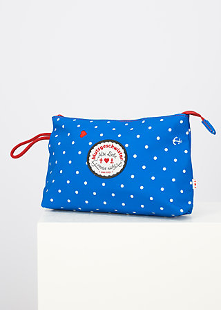 sweethearts washbag, blue anchor love, Accessoires, Blau