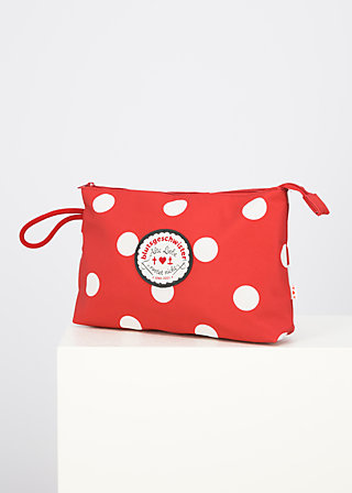 sweethearts washbag, darling dot, Accessoires, Red