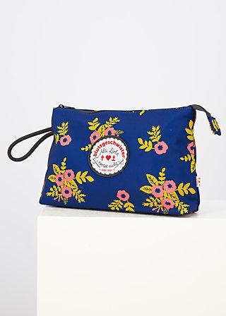 sweethearts washbag, floral stellar, Accessoires, Blau