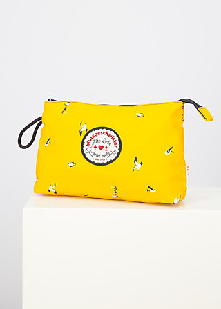 sweethearts washbag, frisian seagull, Accessoires, Yellow