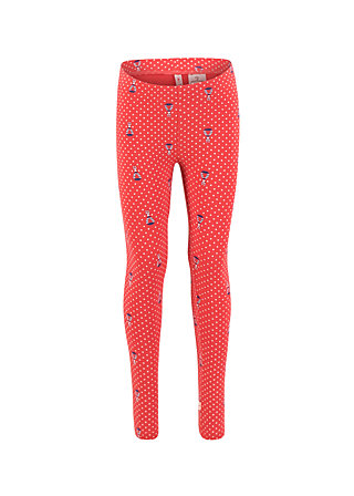 tanzbeinchen legs, red tippi dots, Leggings, Rot