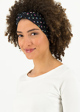 tiny knot hairband, disco flies, Accessoires, Schwarz