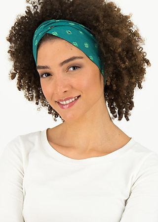 tiny knot hairband, lucky clover, Accessoires, Grün