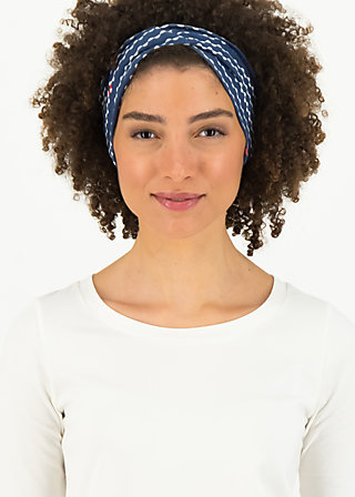 tiny knot hairband, over the ocean, Accessoires, Blue