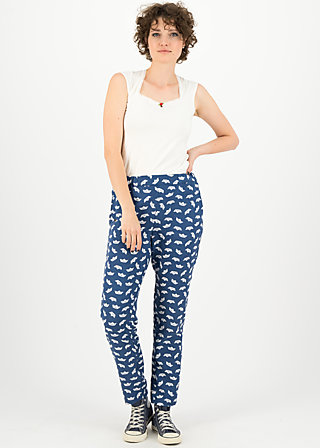 upsy daisy trousers, boat trip, Trousers, Blue