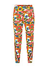 wanderlust pants, shower flower, Trousers, White